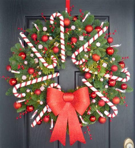 Weihnachtsdeko Fenster Diy by So K 246 Nnen Sie Einen Weihnachtskranz Selber Basteln 50 Ideen
