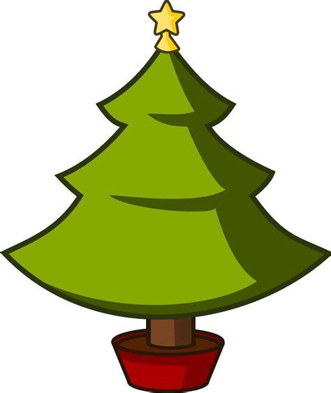 clipart cartoon xmas tree