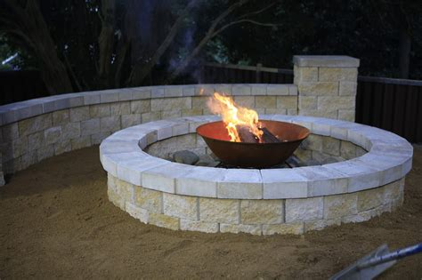 build your own backyard fire pit build your own diy fire pit reno addict