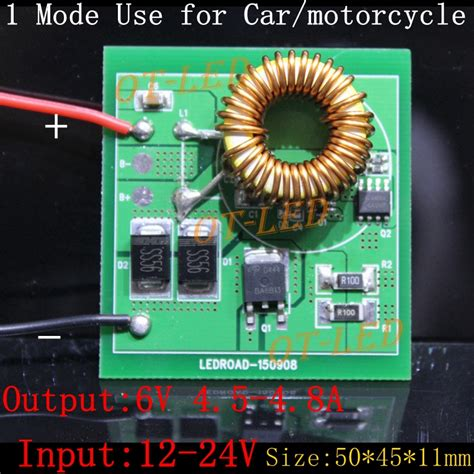 one modes cree xhp70 xhp 70 led driver one mode output dc 6v input