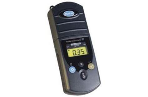 Pocket Colorimeter Ii Chlorine Free Adn Total Hach 5870000 1 pocket colorimeter ii chlorine free and total 5870000