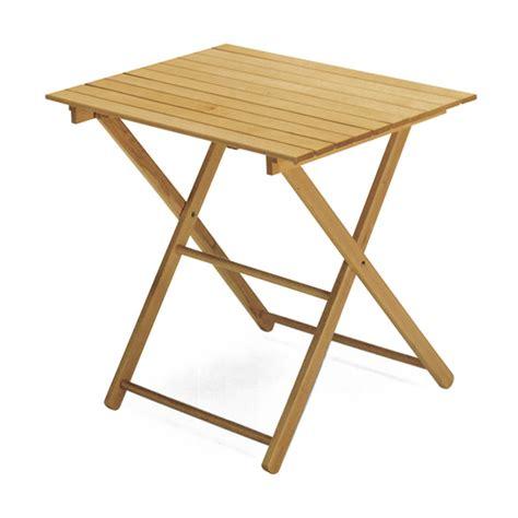 tavolo legno naturale tavolo pieghevole legno naturale cm 70x140 scaramuzza modo