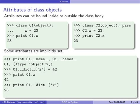 python tutorial classes objects object oriented programming in python