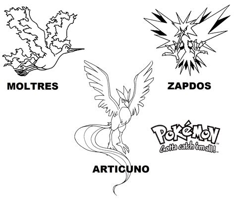 pokemon zapdos coloring pages free legendary pokemon coloring pages for kids