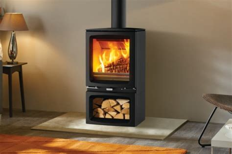 Fireplace Brands - stovax vogue midi wood burning stove