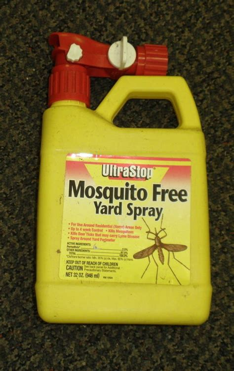 mosquito spray for backyard ultra stop mosquito free yard spray 32 ounces