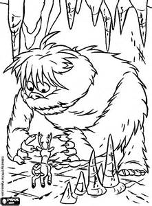 Toy Story Coloring Pages Printable Alltoys For Abominable Snowman Coloring Pages