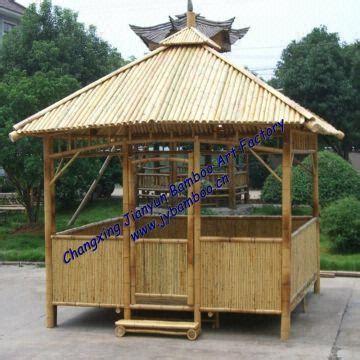 gazebo house bamboo pavilion gazebo house 1 knockdown structure 2