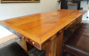tisch holzplatte special custom size wood tables wood recycling use it