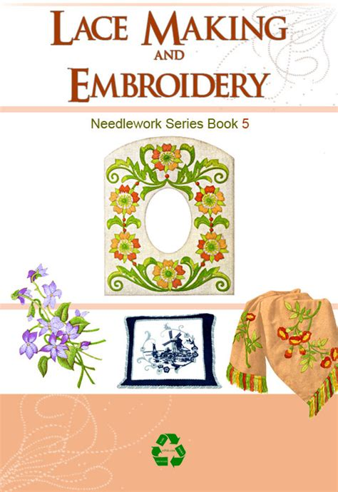 lace making pattern books embroidery lace making and needlework book 5 with 50 patterns