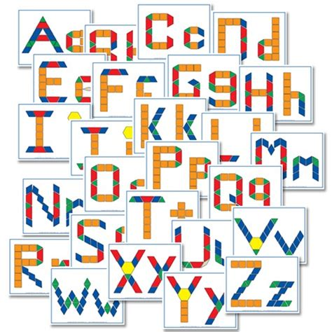 letter pattern games free alphabet pattern block printables confessions of a