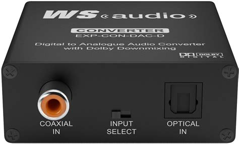 Special Stereo Converter wyrestorm digital to analog converter exp con dac d
