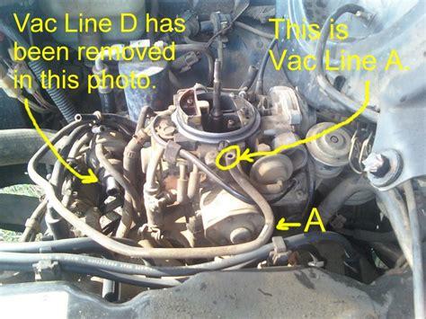 como se conectan las mangueras del carburador de motor