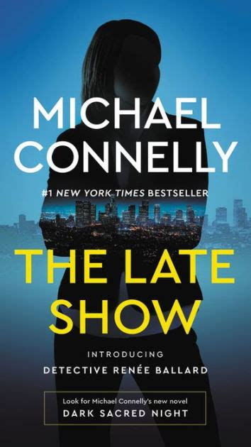 libro the late show the late show ren 233 e ballard series 1 by michael connelly hardcover barnes noble 174