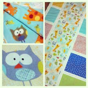 free baby quilt pattern easy owl crib quilt hyvaa