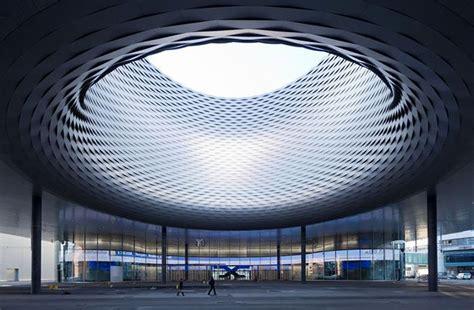 Upstairs Floor Plans by Herzog Amp De Meuron Messe Basel Exhibition Hall