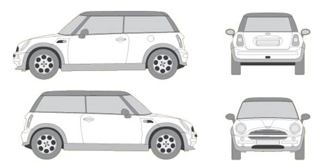 vehicle vector templates free car vector outlines bittennails design mobile app