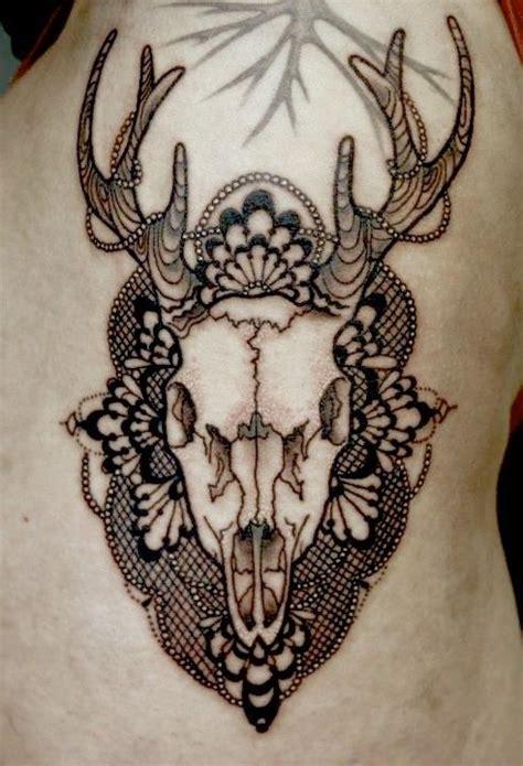 tattoo mandala deer deer skull mandala tattoo artsy fartsy shit pinterest