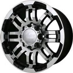 5 Lug Toyota Truck Wheels 16 Vision Warrior Black Machined Wheels Rims 6x5 5 6 Lug