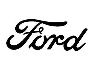 Ford Logo Font Ford Text Decal