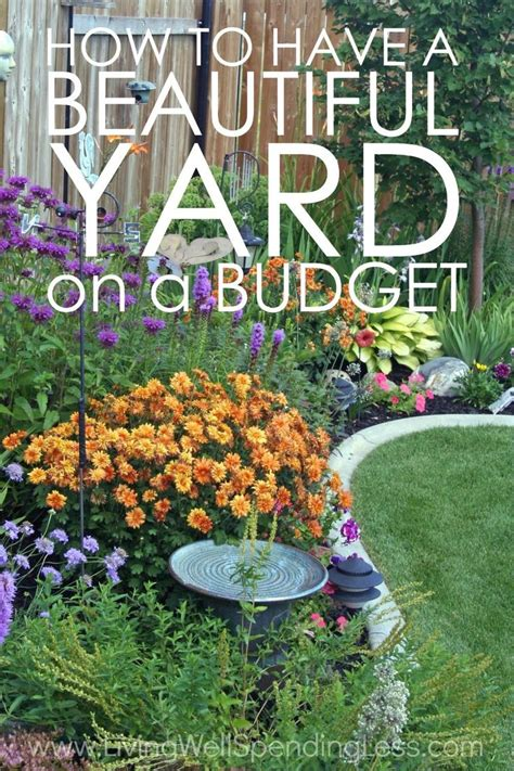 Cheap And Easy Garden Ideas 25 Best Cheap Landscaping Ideas On Yard Sale Simple Landscaping Ideas And