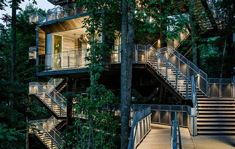 Amazing Spaces Treehouse - the sustainability treehouse thecoolist the modern