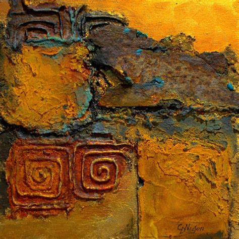 painting rust workshop carol nelson quot southern relic quot mixed media