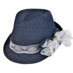 Denim Hat jeanne simmons denim and lace fedora hat youth