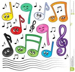 Galerry music notes coloring pics