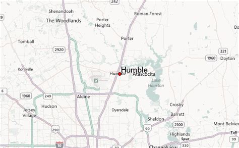 humble texas map humble location guide