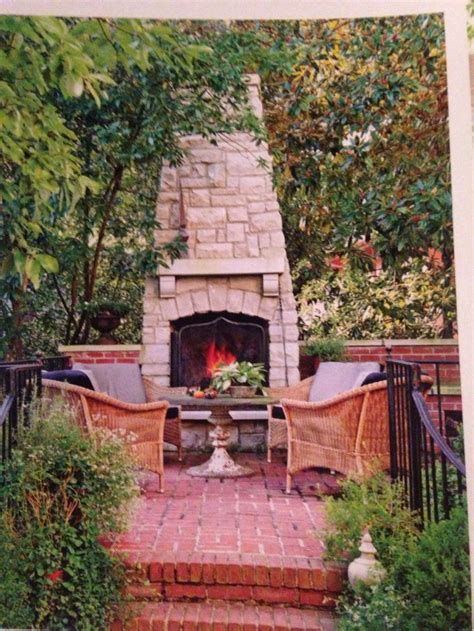 small backyard fireplace outdoor fireplace for a small space outdoor fireplace