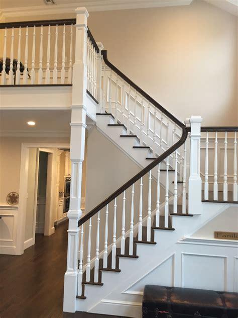 medford long island dkp wood railings stairs