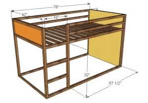 Fort loft bed woodworking plans woodshop plans