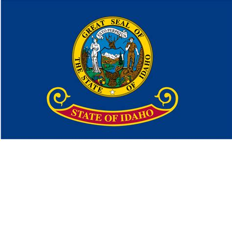 state pictures idaho usa flag pictures