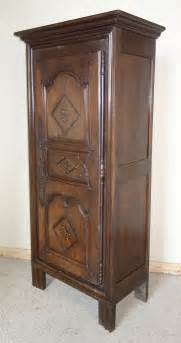 Narrow Armoire by Narrow Oak Chestnut Armoire Wardrobe Antiques Atlas