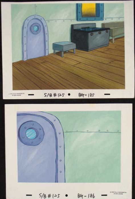 2 spongebob orig animation backgrounds krusty kitchen