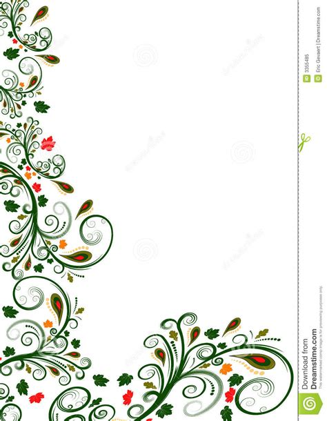 floral pattern frame vector 18 flower border vector images free floral vector