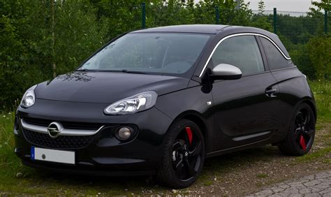 opel adam trunk opel adam 1 4 2014 technical specifications interior and