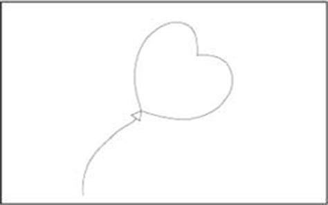 heart balloon coloring page birthday theme coloring and tracing pages