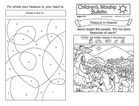children church lessons activities