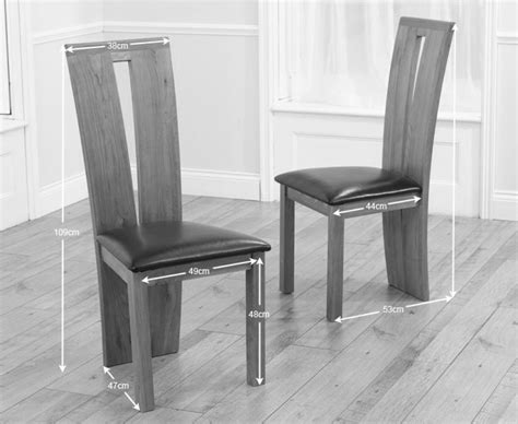 Montreal Solid Oak Black Dining Chairs Pair The Great Oak And Black Dining Chairs