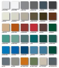 metal sales colors how to the right metal roof color consumer guide 2017