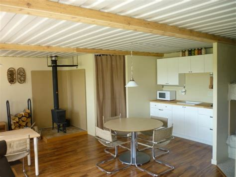 container home interior the tin can cabin a shipping container tiny home