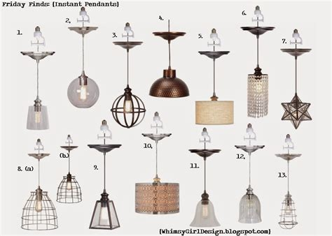 Whimsy Girl Friday Finds Recessed Lighting Conversion