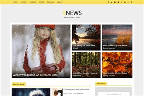 html5 templates for news website 20 news website html5 templates free premium themes