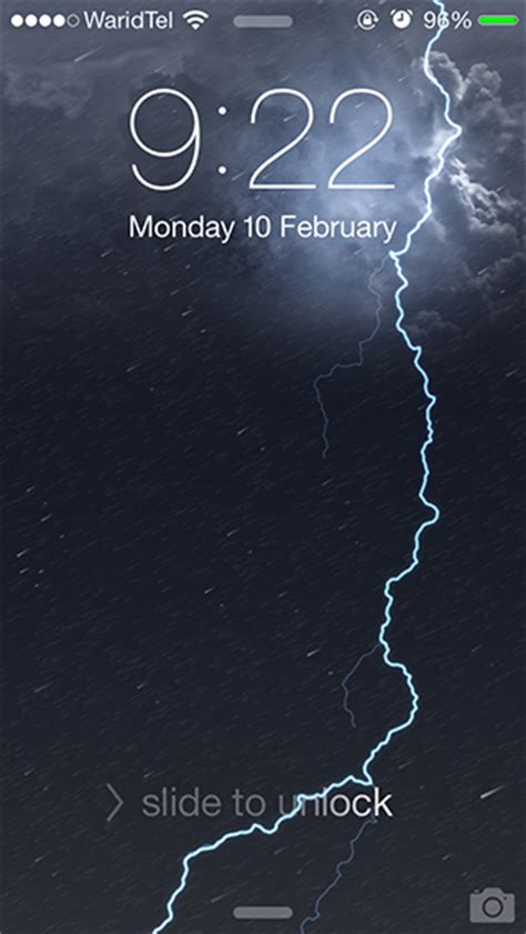 dynamic wallpaper ios 7 iphone 4 get animated weather wallpapers on your iphone with