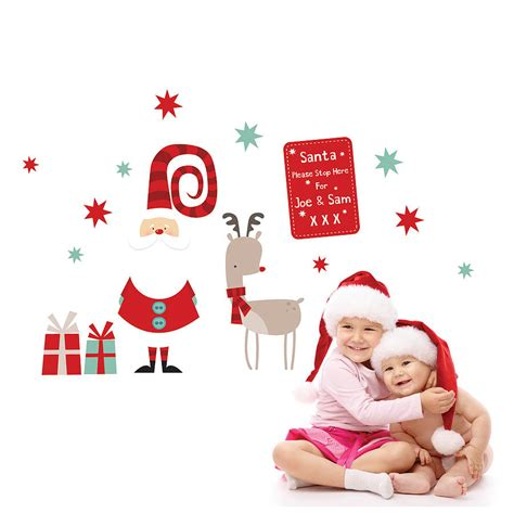 Removable Wall Stickers Uk christmas wall stickers wall art kids