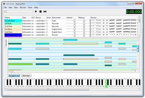Midi Mumer github waddlesplash ragingmidi qt based cross platform midi editor