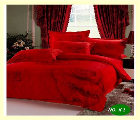 red comforter sets full size red rose sexy comforter reactive dyed 100 cotton bedding