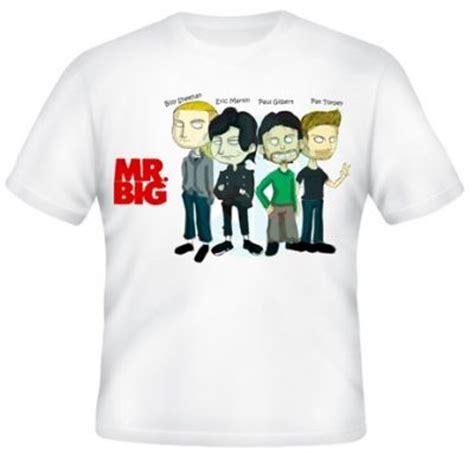 Mr Big Kaos Band Mr Big kaos kartun mr big kaos premium